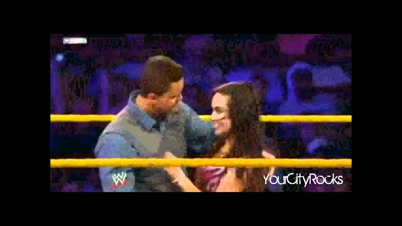 John Cena and AJ Lee Kiss - WWE Raw 11/19/12 - YouTube