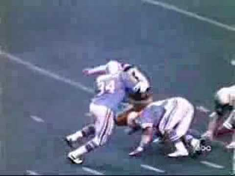 American Football Hardest tackles in history