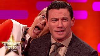 Luke Evans and Emma Thompson's Red Carpet Poses - The Graham Norton Show