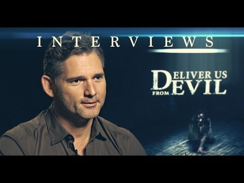 DELIVER US FROM EVIL Interviews; feat: ERIC BANA, SCOTT DERRICKSON, OLIVIA MUNN