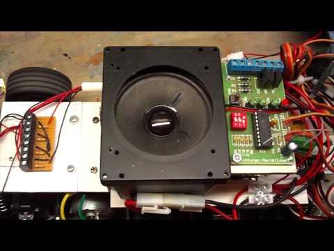 V8 Motorensound für Dodge VAN Umbau (mit Neuhaus Electronics)