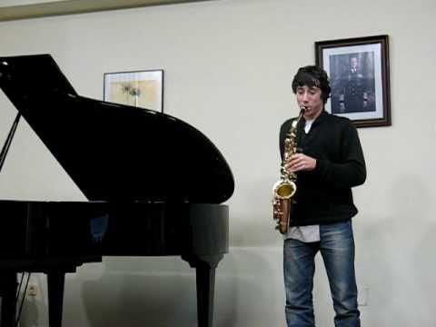 Aula Galega de Saxofón – Estudio Nº 24 de W. Ferling