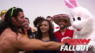 Raw Fallout - Reacciones de Adam Rose