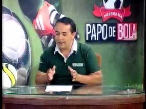 Programa Papo de Bola exibido dia 18 de abril de 2013