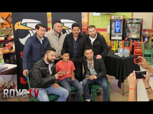 Banda El Recodo Entrevista y Firma De Autógrafos por ROYGTV