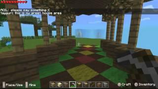Minecraft Pocket Edition Amazon Fire TV Livestream (Day 4)