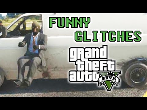 FUNNY GTA 5 GLITCHES MONTAGE (GTA V)