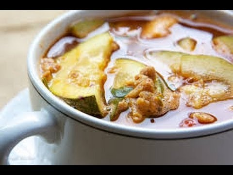 Hearty zucchini soup - HEALTHY FOOD - DIABETIC FOOD