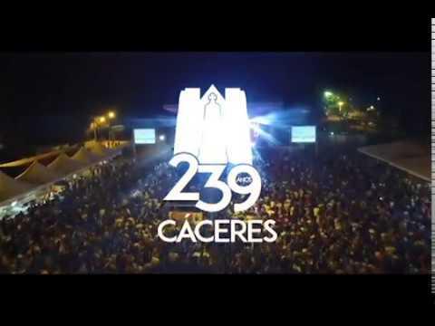 Fanfarra e banda do exército finalizam comemorações do aniversário de Cáceres