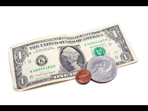 Hướng dẫn ảo thuật biến giấy thành tiền