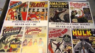 Investing In Comic Books Golden Silver Age DC Marvel