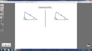 Geometry - 4.4 - Proving Triangles are Congruent: ASA and AAS