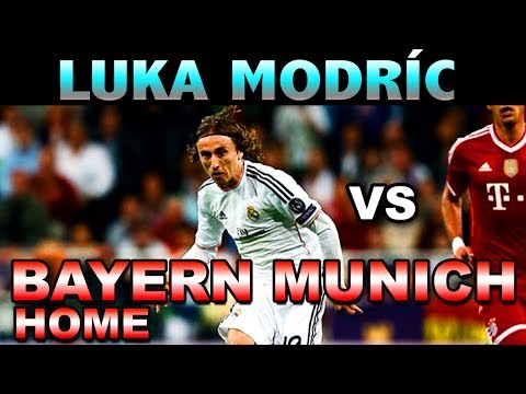 Luka Modric vs Bayern Munich HOME  ( 23 - 04 - 2014 / 23/04/2014 - 23.04.2014 ) [HD]
