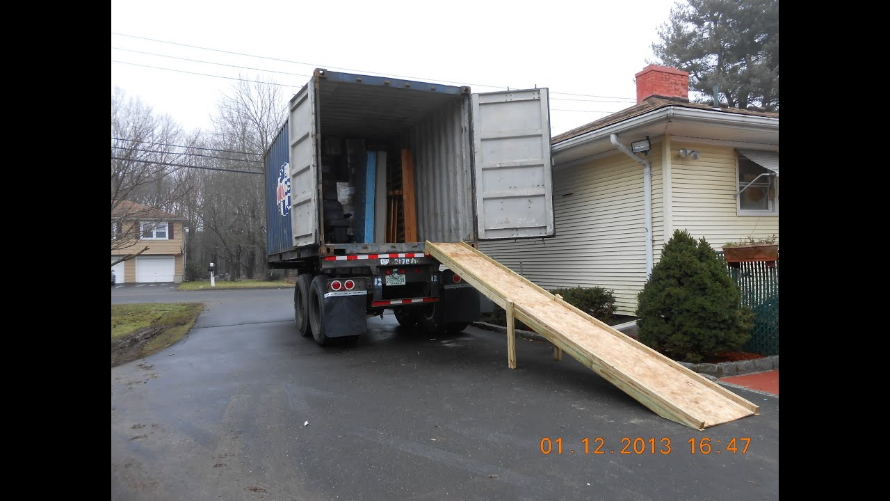 How To Build Loading Ramp For Tractor Trailer Freight