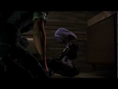 Mass Effect 3 Citadel DLC - Tali drunk and her omni-tattoo