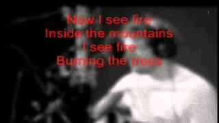 Ed Sheeran I See Fire Karaoke (guitar & Bass)