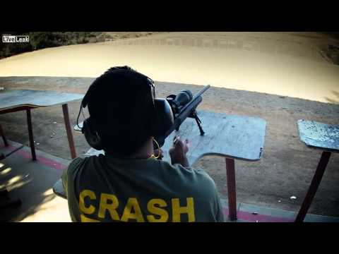 This video is public  Gun dork killed in shooting range accident   maybe fake, you decide