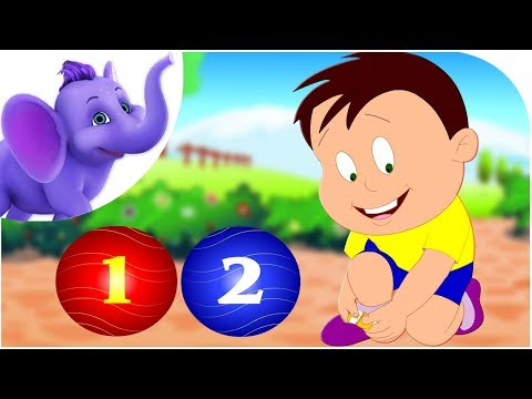 1, 2 Buckle My Shoe - Entertaining  Nursery Rhyme