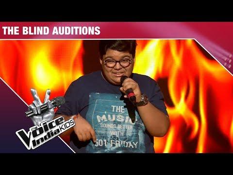 Tanishq Arora Performs On Ek Haseena Thi - Episode 3 - Nov 18, 2017 - The Voice India Kids Season 2