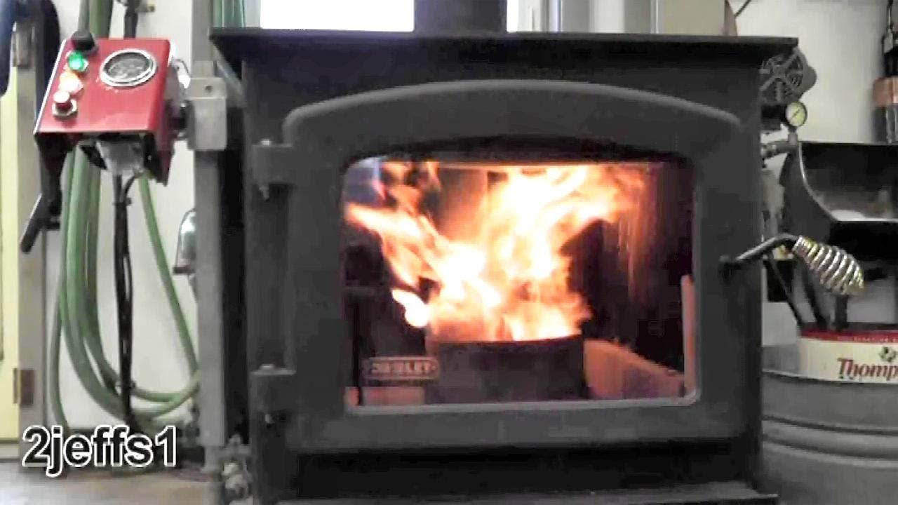 Homemade Waste Oil Burner Heater Diy Youtube