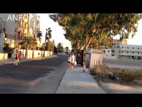 КИПР: Идем на море в городе Айя-Напа... остров Кипр... Cyprus Ayia Napa