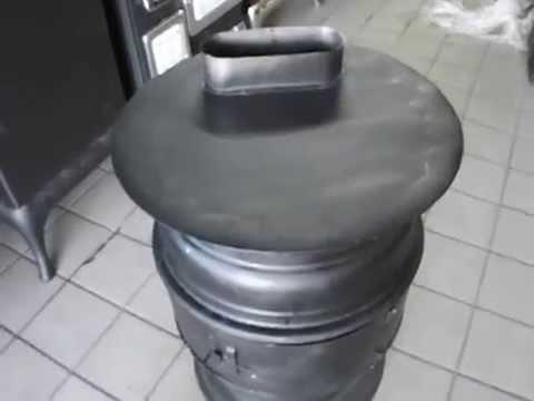 CHIMENEAS DE LEÑA (Calentador de rines) www.bazarlosmenones.com