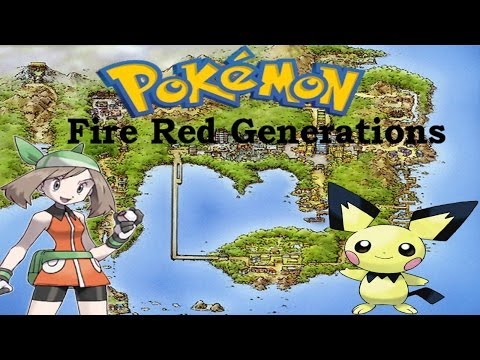 Pokemon Fire Red Generations - Contro Gary #1