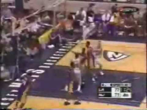 Stephon Marbury CrossOver on Kobe Bryant and Finishes Over Shaq