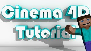 Cinema 4D Tutorial: How To Animate Minecraft Part 1
