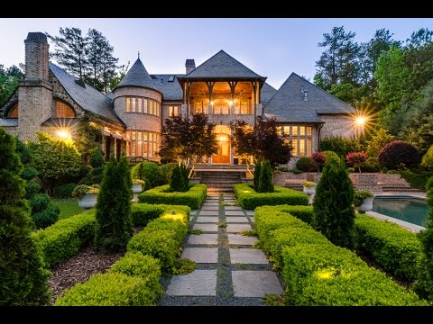 Beautiful 4 million dollar english manor in atlanta 4250 for Beautiful million dollar homes