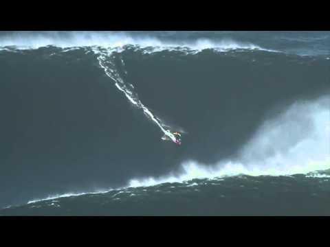 A maior onda do mundo já surfada