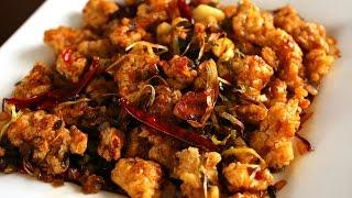 Spicy garlic fried chicken (Kkanpunggi: 깐풍기)