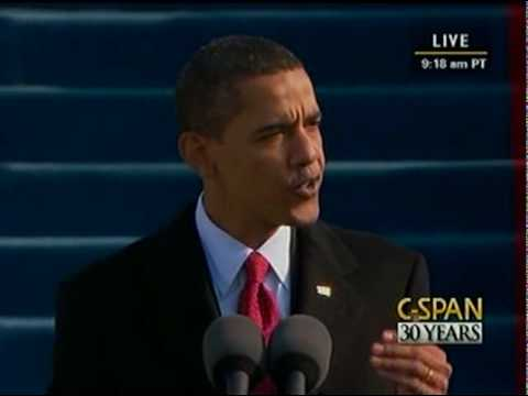 C-SPAN: President Barack Obama 2009 Inauguration and Address