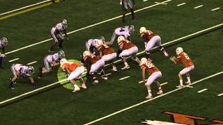 Highlights of Texas OT Donald Hawkins who signed with Philadelphia [May 13, 2014]