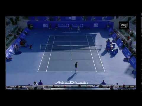 Roger Federer vs Rafael Nadal - Abu Dhabi 2012