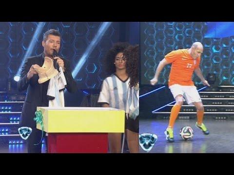 Regalos de Tinelli para los brasileros [Showmatch 2014]