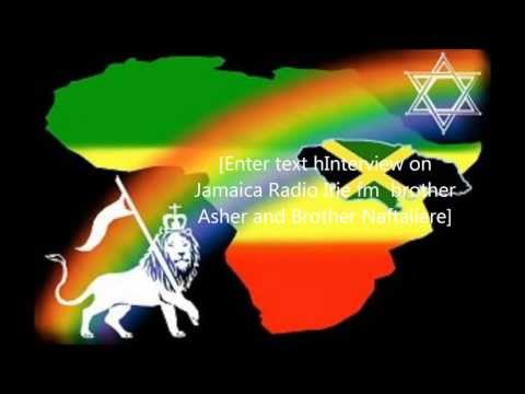 Part One.....Interview on Jamaica Radio‏ Irie fm  brother Asher and Brother Naftali
