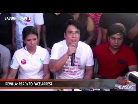 Revilla  Ready to face arrest