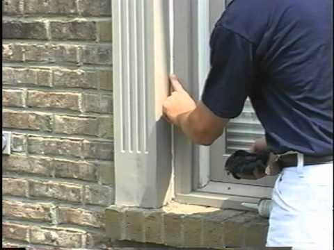 Exterior wood trim caulking 39 youtube - Wood filler or caulk for exterior trim ...