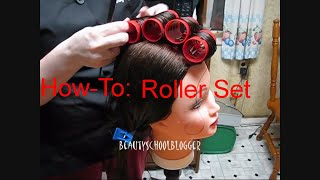 How To Do A Roller Set! Part 1