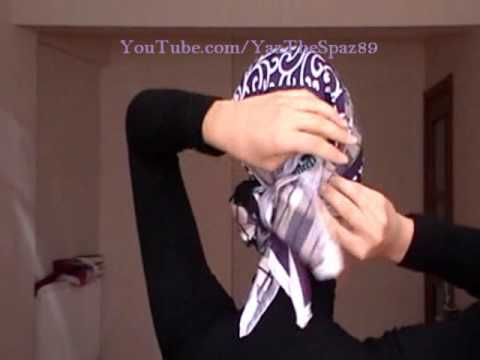 Hijab Tutorial #18 (Beautiful Back Bow Design)