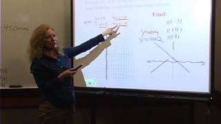 College Algebra: Lecture 4 - Piecewise-Defined Functions