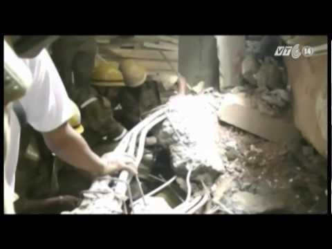 VTC14_Sập tòa nhà đang xây ở Ấn Độ, 13 người chết