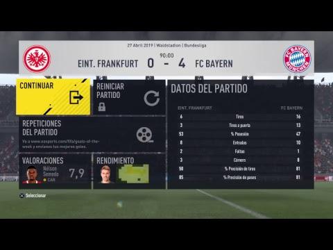 #455 FIFA 17 PS4 Career mode S7E48 // EINTRACHT FRANKFURT Vs BAYERN MUNCHEN -Bundesliga -Matchday 30