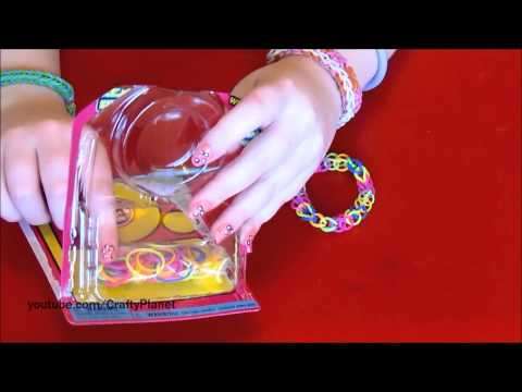 Hình ảnh trong video Rainbow Loom Rubber Band Haul - Dollar Store