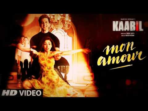 youtube video Mon Amour Song (Video) | Kaabil | Hrithik Roshan, Yami Gautam | Vishal Dadlani | Rajesh Roshan to 3GP conversion