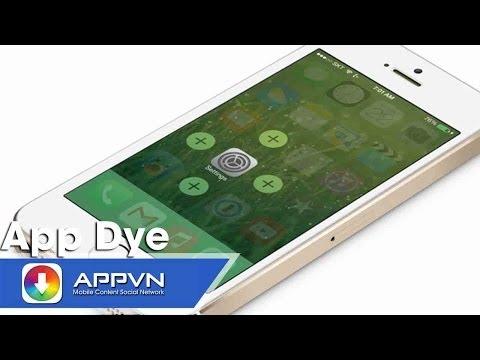 [Cydia Tweak] AppDye - Thay đổi màu chủ đạo toàn hệ thống - AppStoreVn