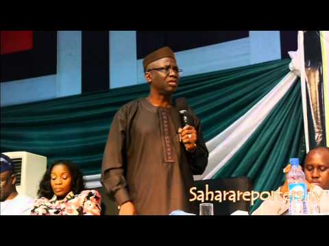 "Video: ""All General Overseers Must Go To Prison""-Pastor Bakare"