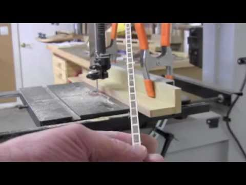 Wood Inlay Banding Made Easy Youtube