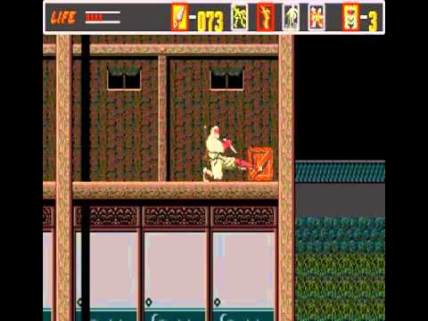 The Revenge of Shinobi - Revenge of Shinobi, The (GEN) - User video